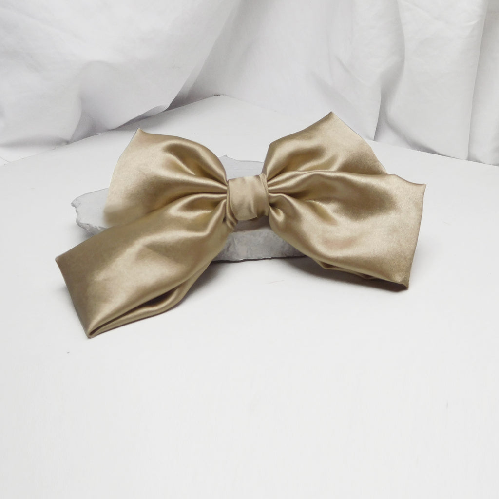 CLASSIC CARAMEL BOW-Accessories-SOHO BOHO STUDIO-6degree.store