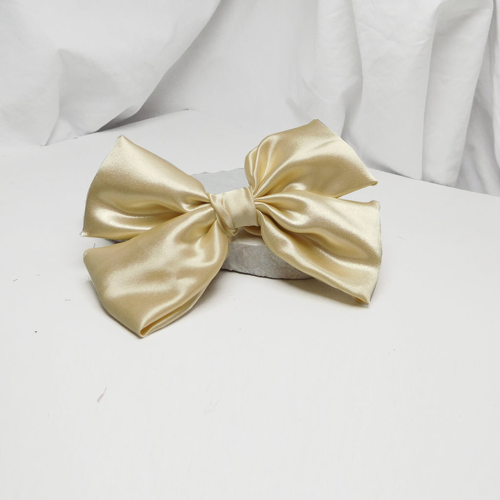 CLASSIC NOAH CRÈME BOW-Accessories-SOHO BOHO STUDIO-6degree.store