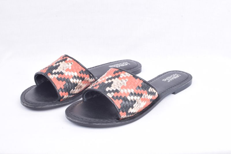 Woven Multi Colour Leather Flats-Accessories-URBAN KICKERS-6degree.store