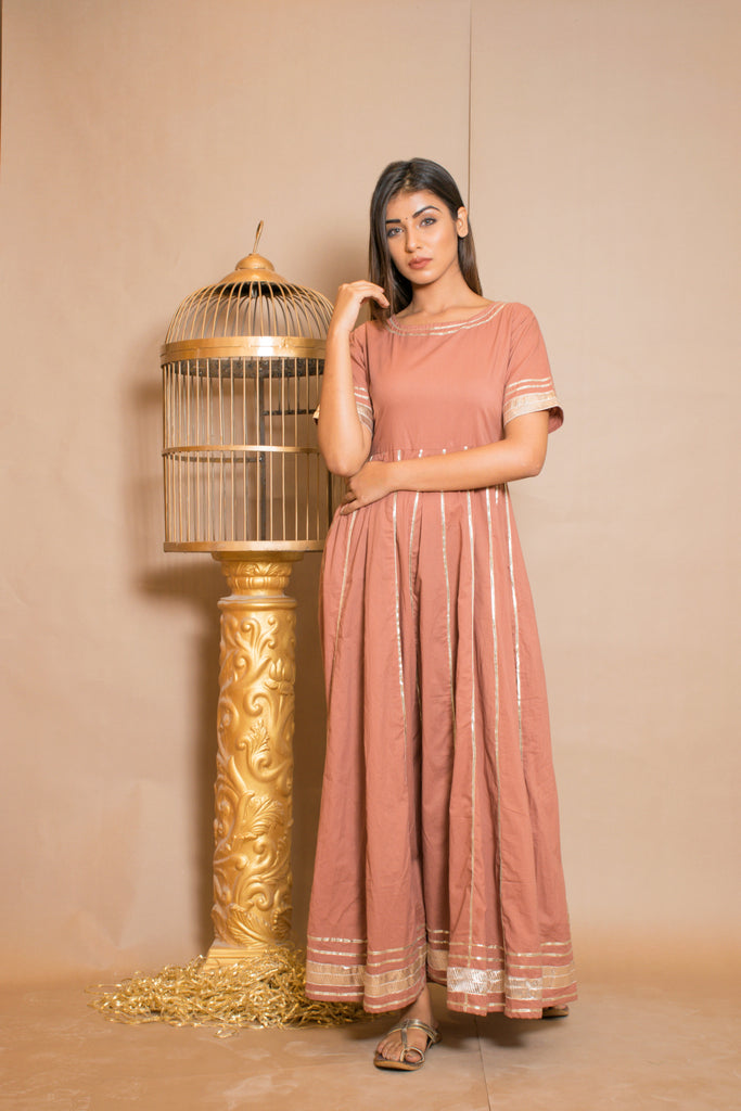 Ria Mauve-Dress-CHOKHI BANDHANI-6degree.store