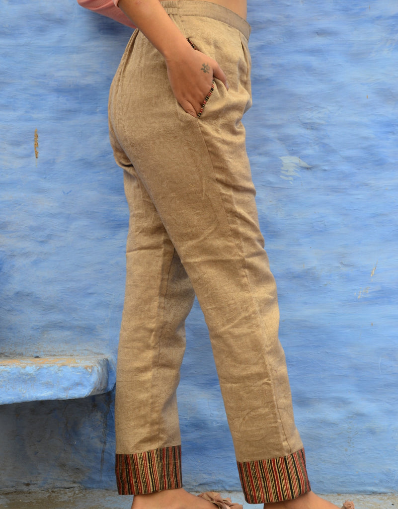 Natural Dye Pant-Pants-MEDHYA-6degree.store