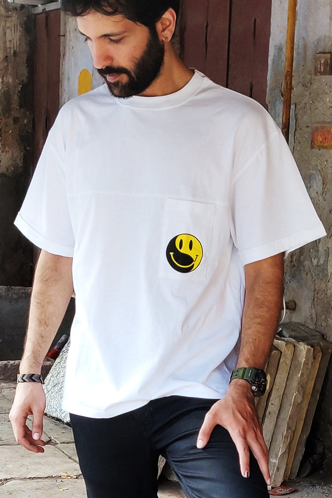 Yin Yang White T-shirt-Mens T-Shirt-Good Stuff-6degree.store