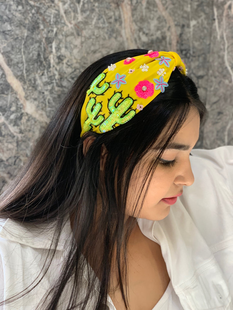 Yellow Summer Turrband-Accessories-TURRBAND-6degree.store