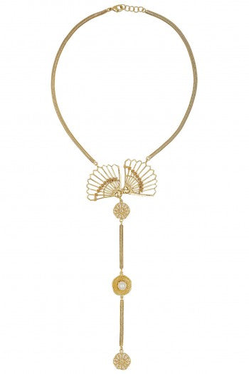 Necklace with wings-Accessories-ITRANA-6degree.store