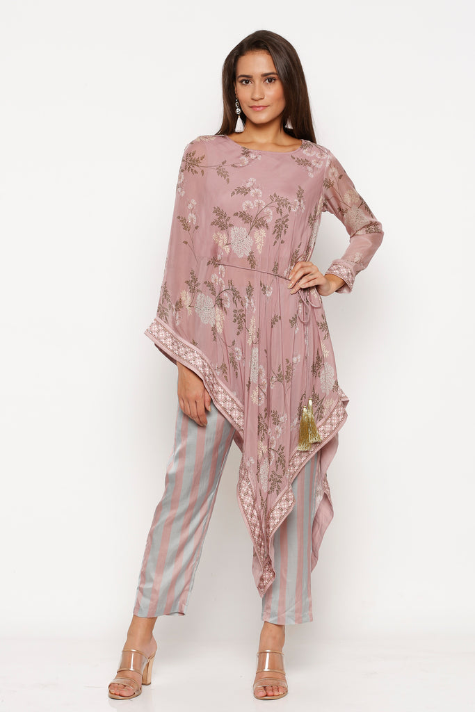 TOP AND PANTS MELLOW ROSE-Tops-SOUP BY SOUGAT PAUL-6degree.store