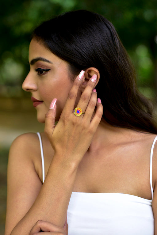 Phase Ring-Full Moon-Accessories-MITALI JAIN-6degree.store