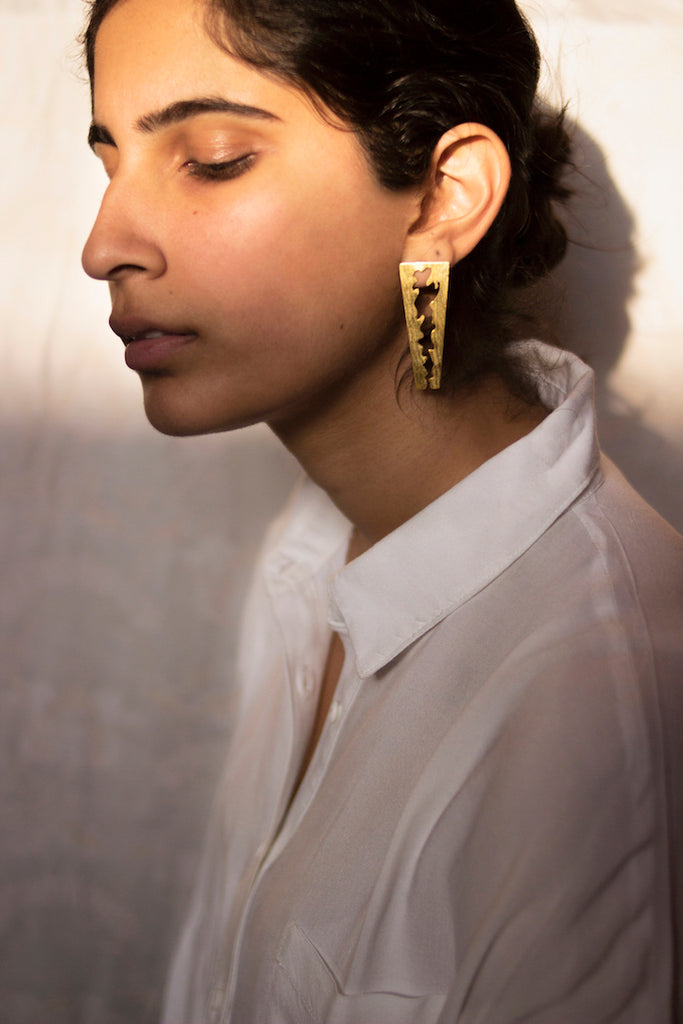 Cut Earrings-Accessories-MITALI JAIN-6degree.store