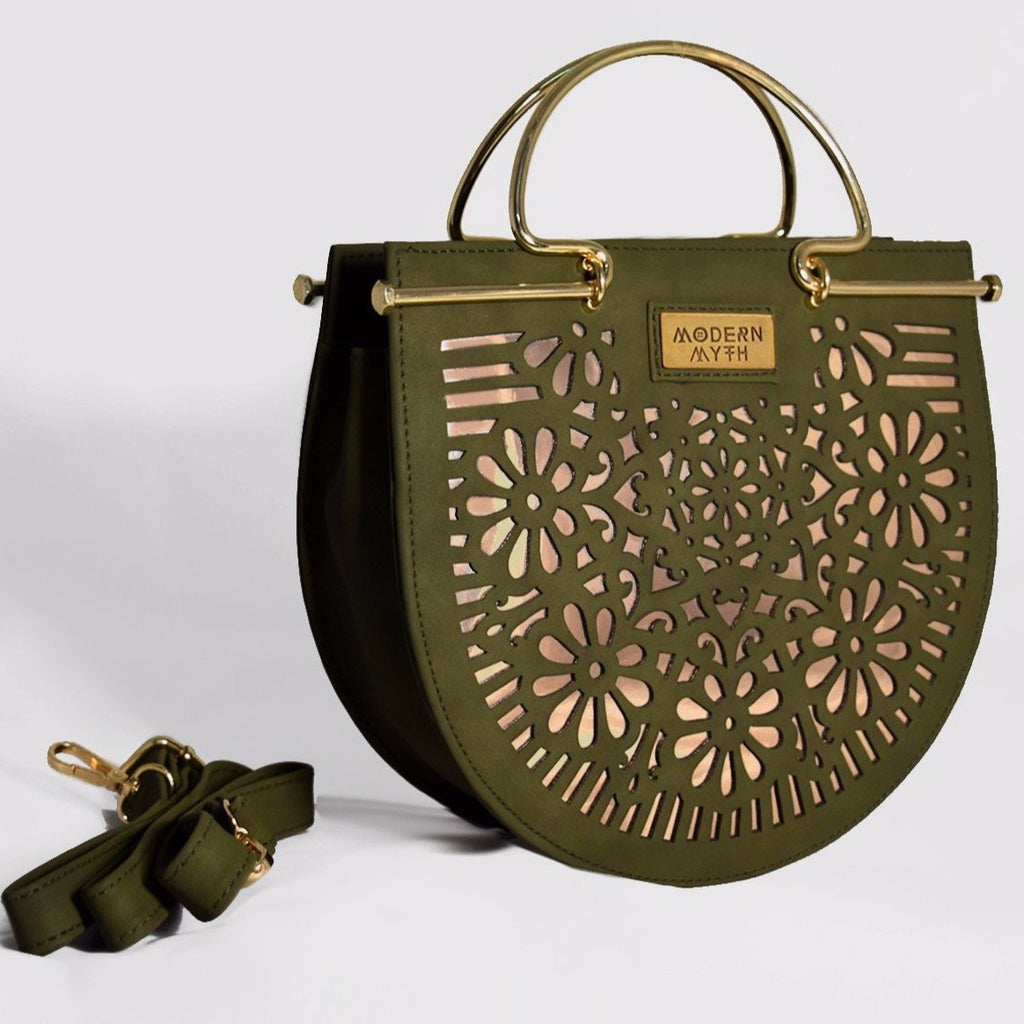 Olive Arc Sling Bag-Accessories-MODERN MYTH-6degree.store