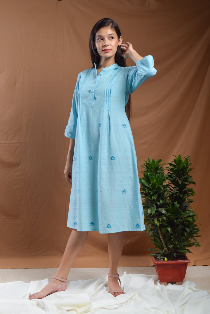 Badal A line dress-Dress-AMOH-6degree.store