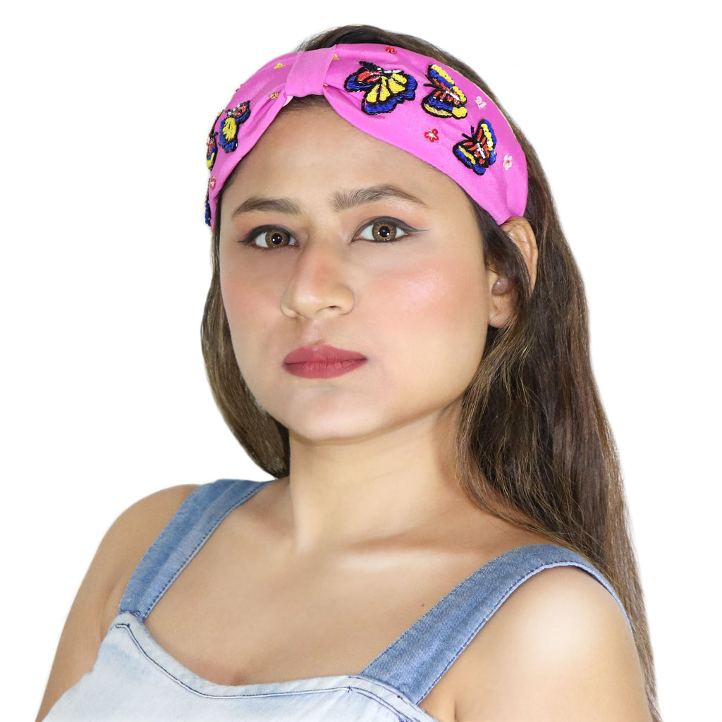 Butterfly Lady Hairband-Accessories-SOHO BOHO STUDIO-6degree.store