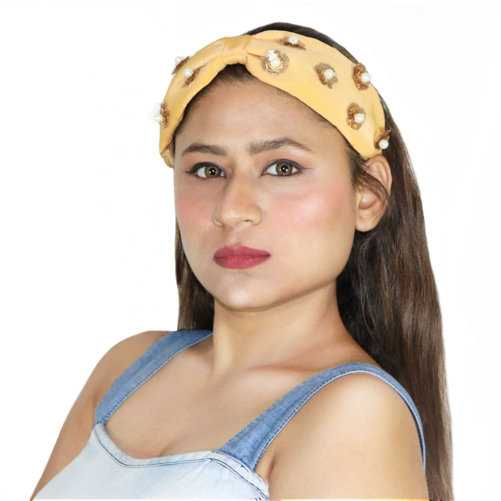 Pearlish Hairband-Accessories-SOHO BOHO STUDIO-6degree.store