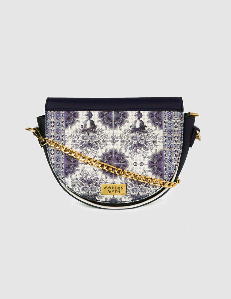 Blue Persian Arte Saddle Bag-Accessories-MODERN MYTH-6degree.store
