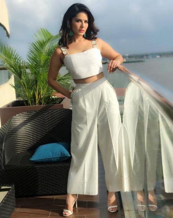 Sunny Leone | Fiona Culottes With Pockets-Pants-OUR LOVE-6degree.store
