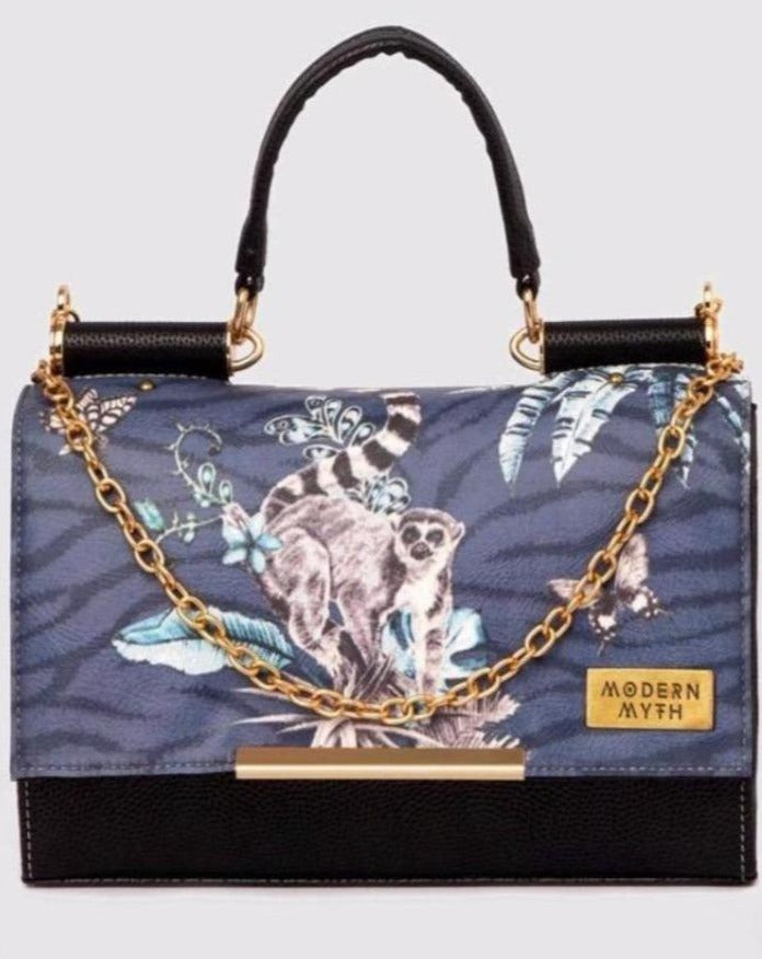 Blue Lemur Island Satchel-Accessories-MODERN MYTH-6degree.store