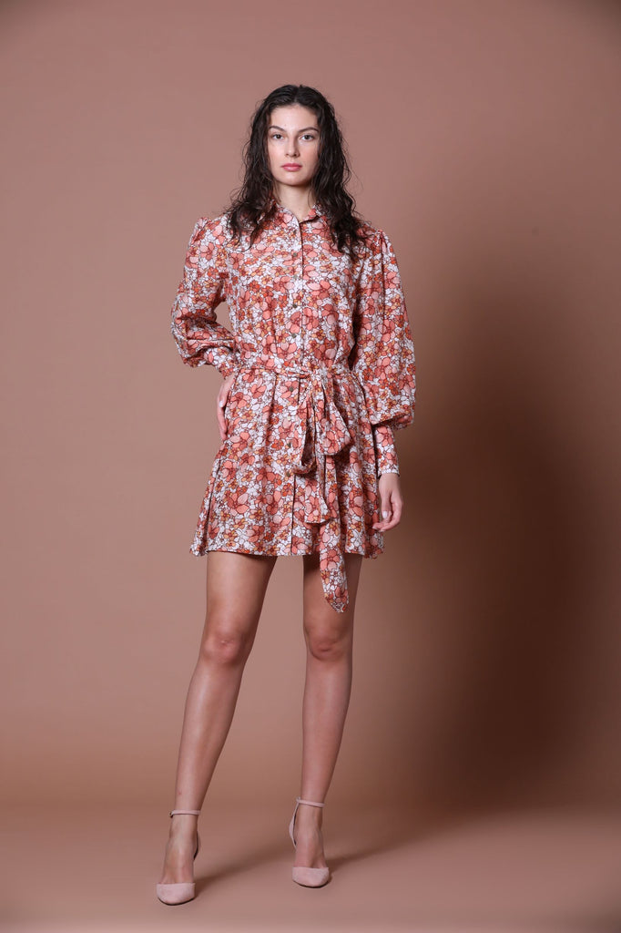 Mini shirt dress-Dress-MEADOW LABEL-6degree.store