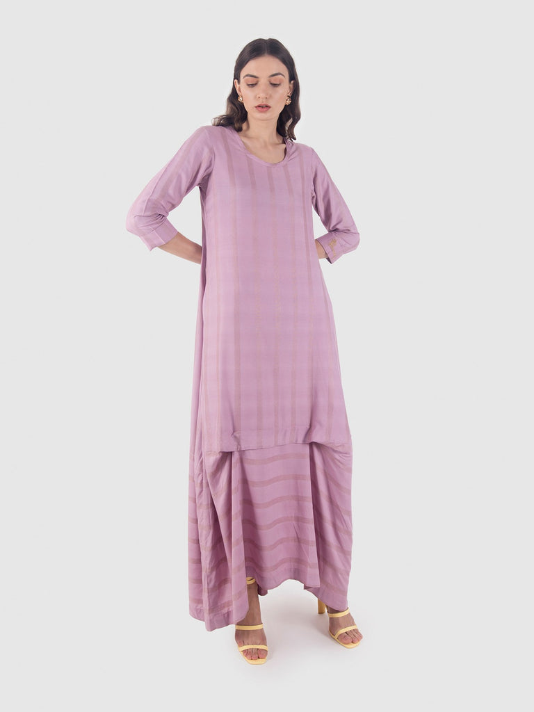 Periwinkle dress-Dress-LEELA BY A-6degree.store