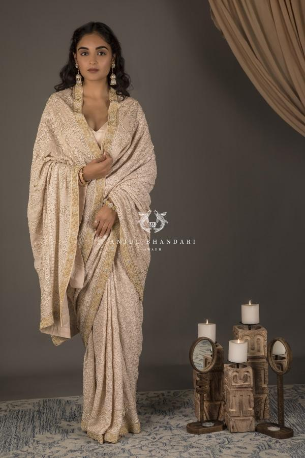 Saree Nude-Saree-Anjul Bhandari-6degree.store