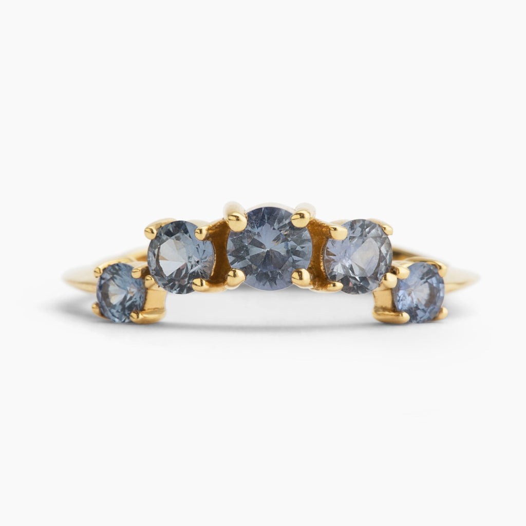 Sapphire Crown Nico Stacker