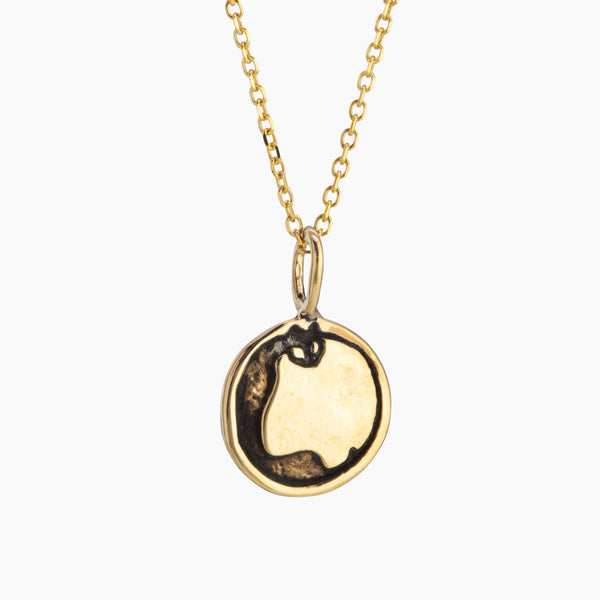 Jiji Moon Charm Necklace