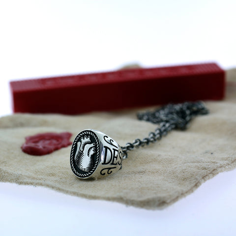 Heart Signet Necklace