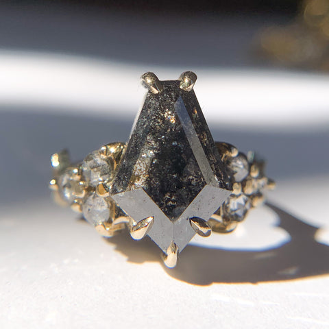 2.25ct Dark Coffin Shield Nico