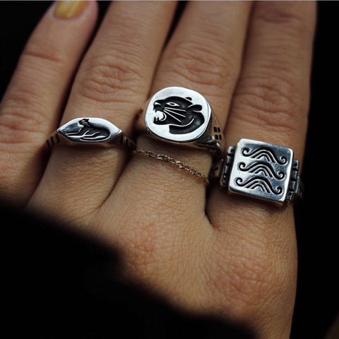 Japanese Wave Ring