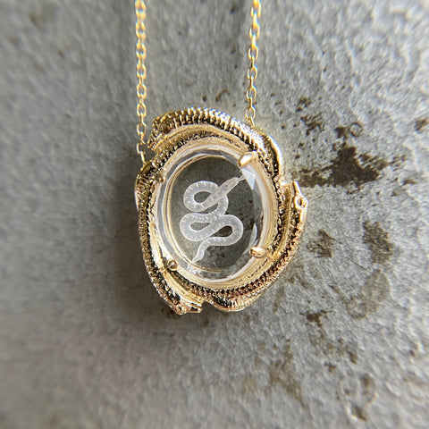 Triple Nagini Necklace