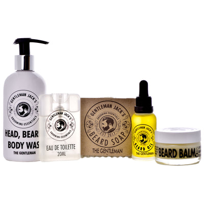 The Gentleman Beard Care Gift Set