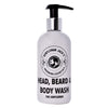 The Gentleman Head, Beard & Body Wash 250ML