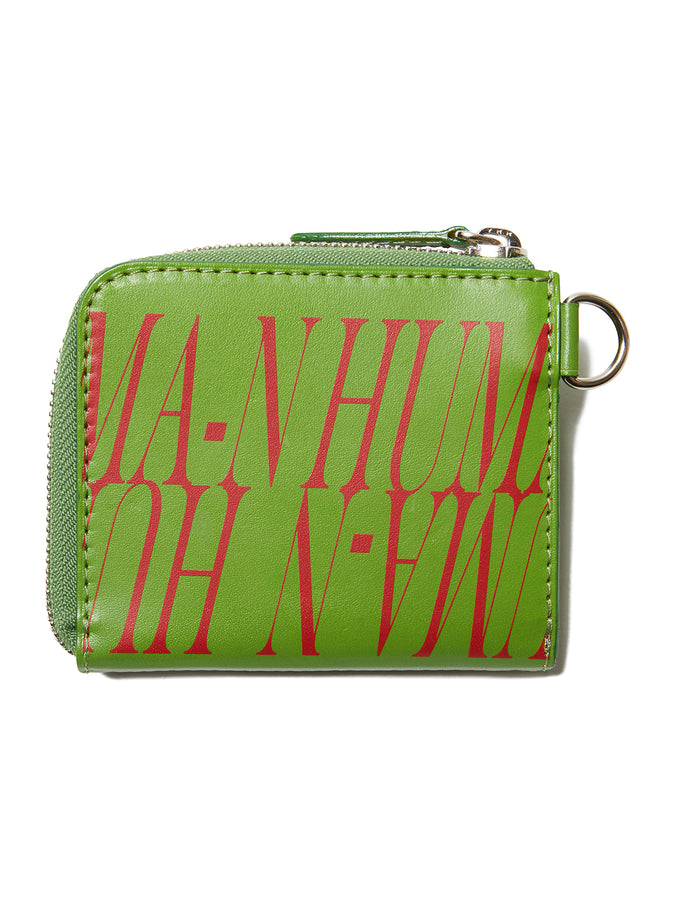 Graphic Print Leather Wallet LIM