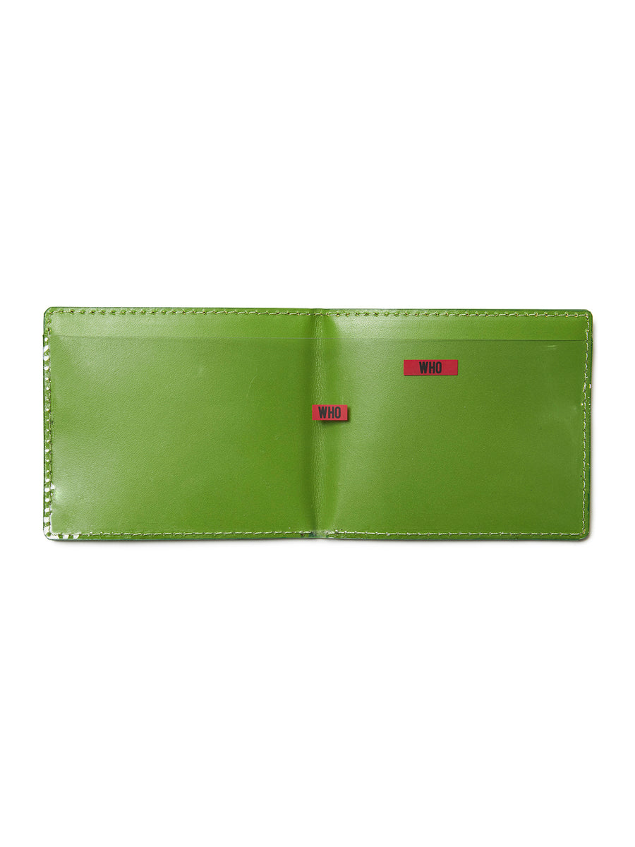 Logo Leather Wallet LIM