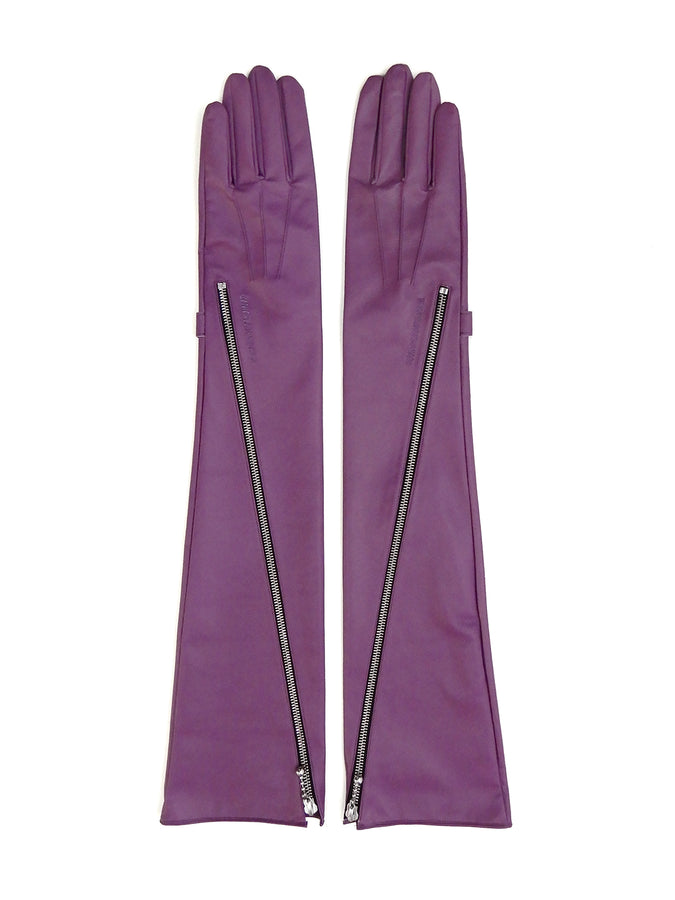 Zip Long Gloves (WOMENS) LAV