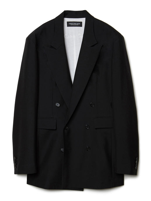 Double-breasted Jacket BLK