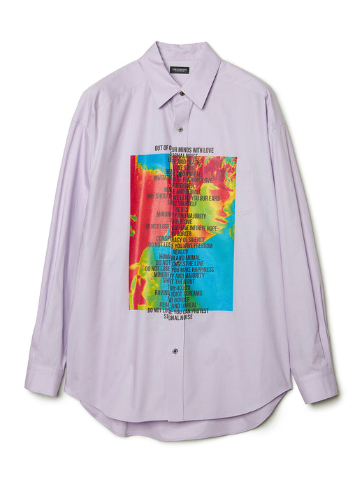 Graphic Print Shirt LAV