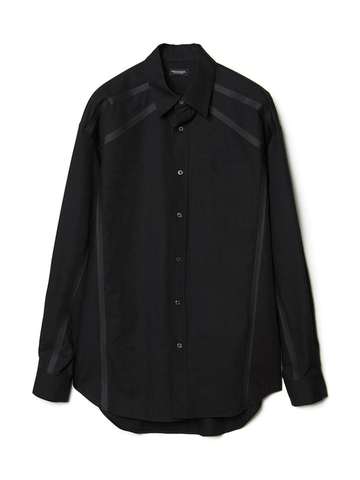 Taped Shirt  BLK