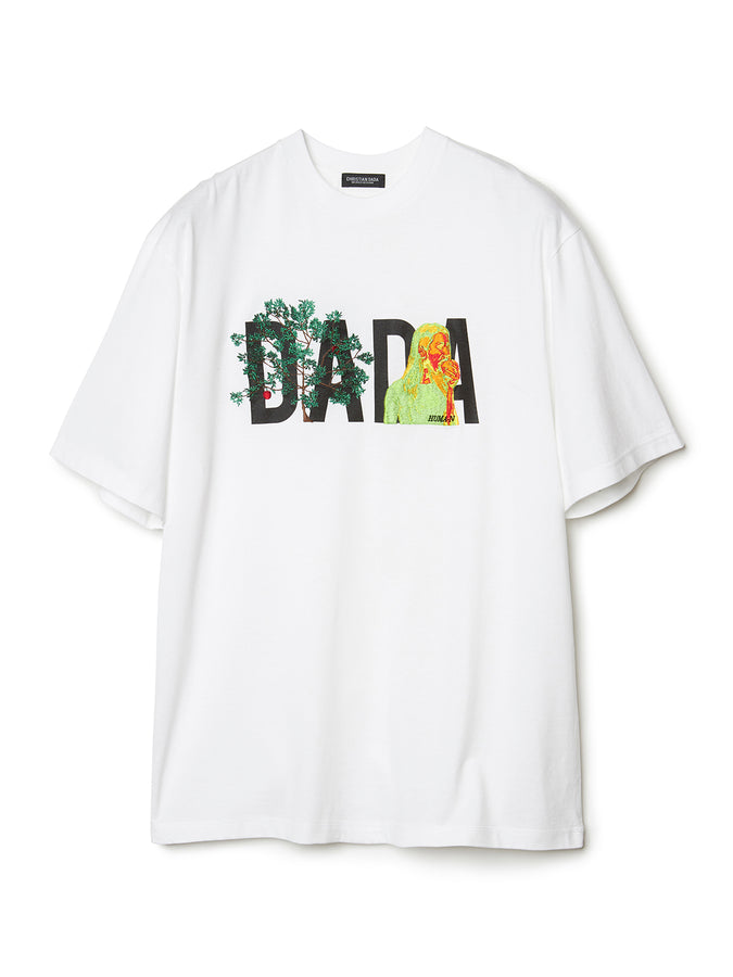 DADA Logo Embroidery T-shirt WHT