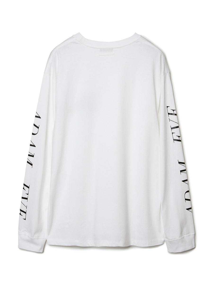 DADA Logo Long Sleeve T-shirt WHT