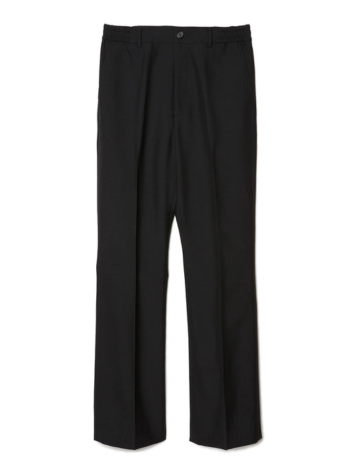Bootcut Wool Trousers BLK