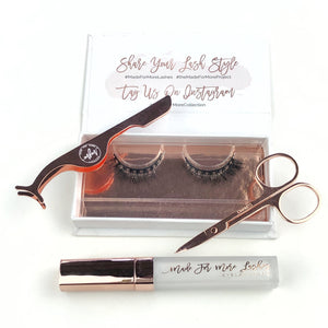 Made for More Lashes Starter Set - Girl Next Door Lashes - SALE PRICE