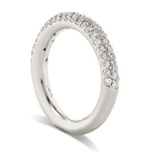 Half Way Pave Diamond Band