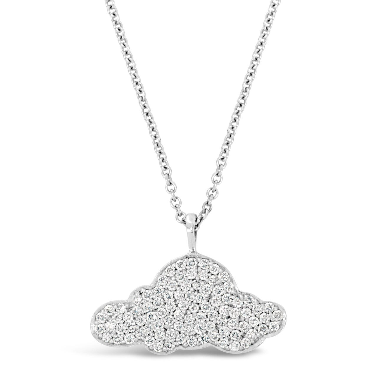 Diamond Cloud Pendant