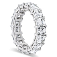 Load image into Gallery viewer, Shared Prong Asscher Cut Diamond Band