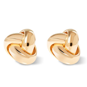 14K Gold Love Knot Earrings