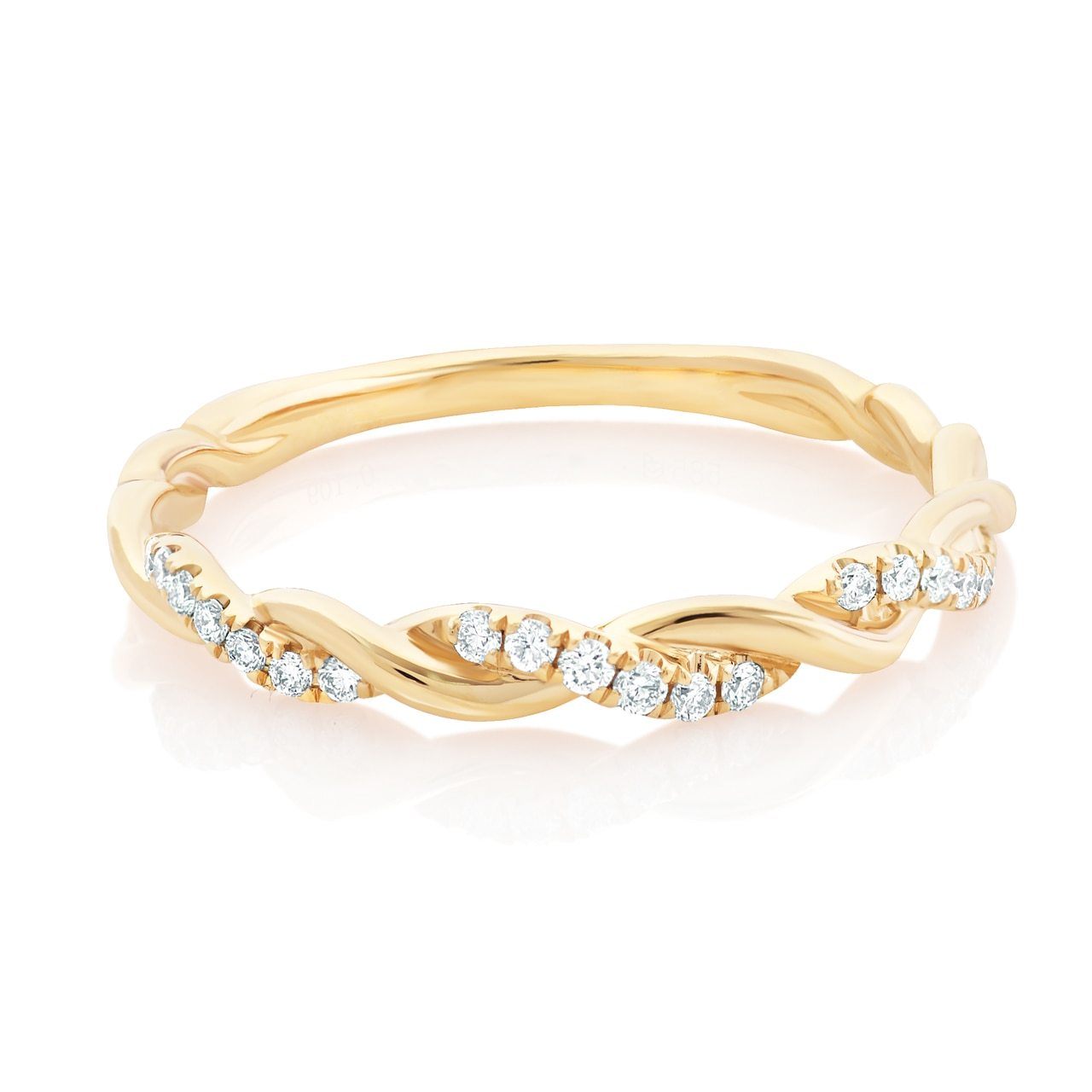 Diamond Twist Band
