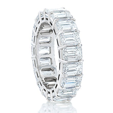 Load image into Gallery viewer, Emerald Cut Diamond Eternity Band