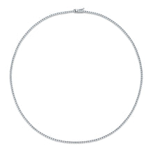 Load image into Gallery viewer, Diamond Tennis Necklace