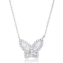 Load image into Gallery viewer, Diamond Butterfly Pendant