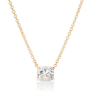 Radiant Diamond Pendant