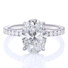 Load image into Gallery viewer, Oval Diamond Engagement Ring