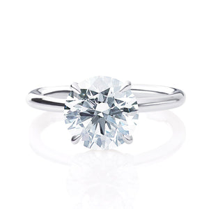 Classic Four Prong Solitaire Diamond Ring
